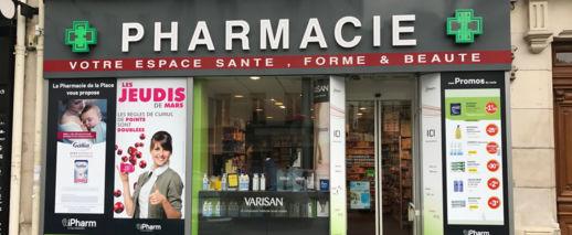Pharmacie  De La Place/Wolfmann,Paris